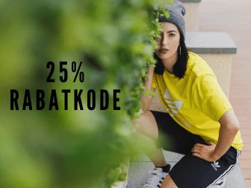 25% ekstra rabatkode til adidas