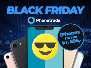 Phonetrade Black Friday rabat: spar 5% ekstra på iPhones