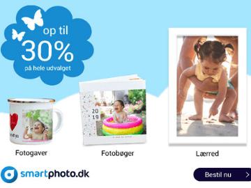 Smartphoto rabatkode: op til 30% rabat